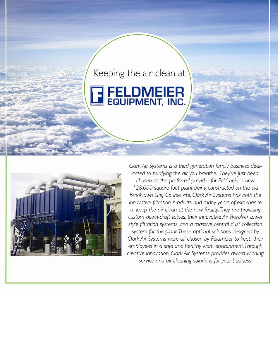Industrial Air Cleaners at Feldmeier Equipment Inc.