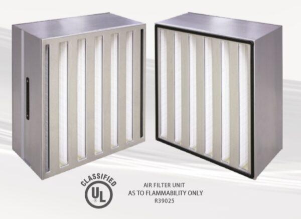 High volume HEPA metal frame